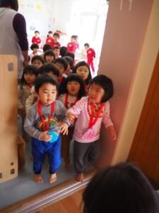 メダルがもらえて大喜びの子供達!