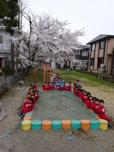 うちゅうぐみと桜