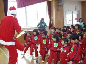 サンタさんの踊り