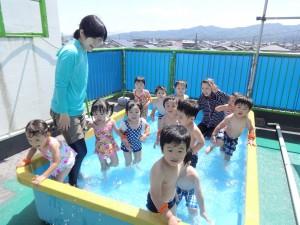 2歳児 プール